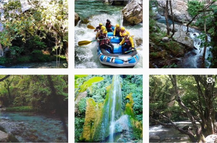 Ο ποταμός Λούσιος μέσα από ... φωτογραφίες στο instagram!