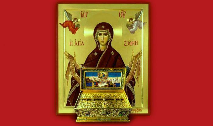 Η Αγία Ζώνη της Παναγίας για πρώτη φορά στην Τρίπολη!