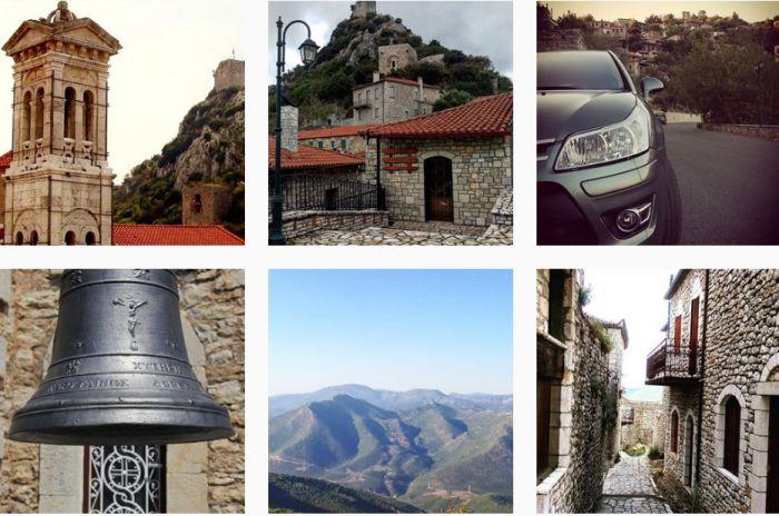 Το Instagram ... υποκλίνεται στην ομορφιά της Καρύταινας! (εικόνες)