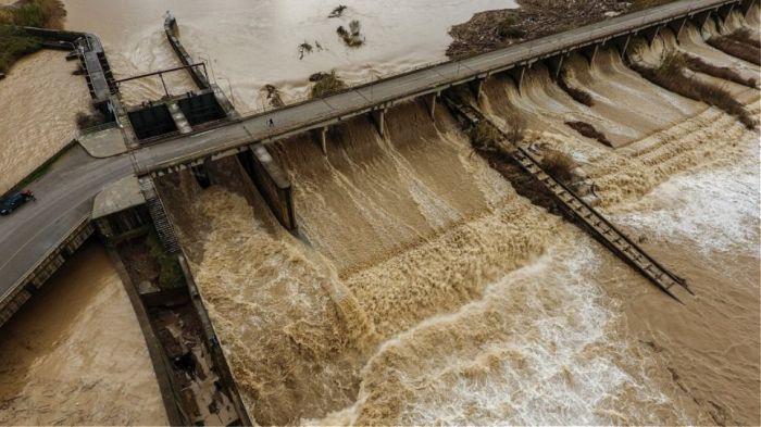 Πλημμύρισε ο Αλφειός – Καταστράφηκαν καλλιέργειες