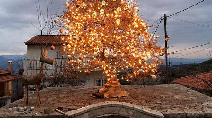 Η εορταστικά Παναγιά στη Γορτυνία! (εικόνες)