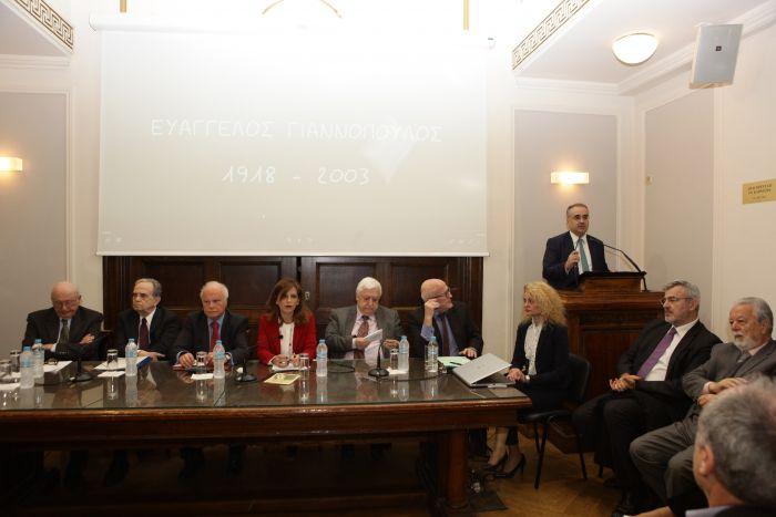 Ο Δικηγορικός Σύλλογος Αθηνών τίμησε τη μνήμη του Γορτύνιου Βαγγέλη Γιαννόπουλου (εικόνες)