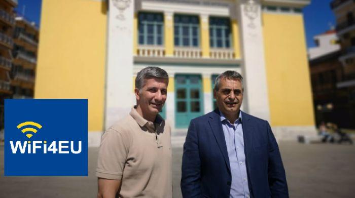 Δωρεάν Wi-Fi σε κεντρικές πλατείες της Τρίπολης και Λεβίδι | Κ. Τζιούμης: «Βήμα – βήμα δημιουργούμε μια έξυπνη πόλη»